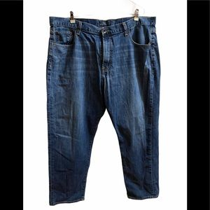 Lucky Brand 481 Relaxed Straight Jeans Sz 42 x 30